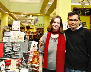Booksmith owners