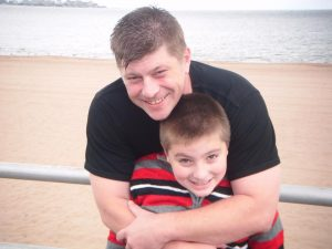 Brian D. Anderson and son